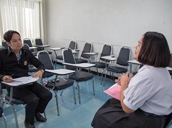วันที่ 30 พฤศจิกายน 2560 การสอบสัมภาษณ์ระบบ portfolio (รอบ1/1) ประจำปีการศึกษา2561 คณะครุศาสตร์ มหาวิทยาลัยราชภัฏสวนสุนันทา  วันที่ 2