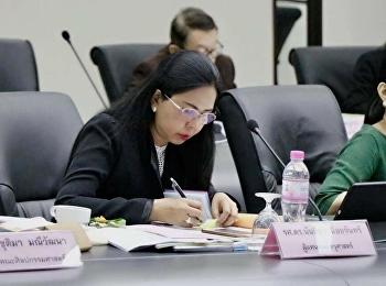 13 ธันวาคม 2560 รองศาสตราจารย์ ดร.นันทิยา น้อยจันทร์ เข้าร่วม การประชุมสภาวิชาการ ครั้งที่ 12/2560 ห้องประชุมสภามหาวิทยาลัย อาคาร 31 ชั้น 5