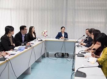 26 มกราคม 2561 รองศาสตรจารย์ ดร. นันทิยา น้อยจันทร์ ต้อนรับคณะผู้บริหารจากมหาวิทยาลัย Beijing Wuzi University ประเทศสาธารณรัฐประชาชนจีน