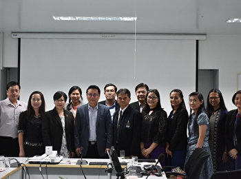 February 1, 2018. Dr. Anchana Suksomjit, Associate Dean for Academic Affairs With the faculty and staff of the Faculty of Education. Welcoming the Faculty of Traffic Research Project 2