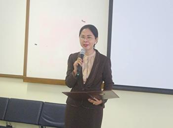 10 กุมภาพันธ์ 2561 รองศาสตราจารย์ ดร. นันทิยา น้อยจันทร์ คณบดีคณะครุศาสตร์ ให้เกียรติ์เป็นประธานเปิดโครงการอบรมเชิงปฏิบัติการสำหรับครู อาจารย์ บุคลากรทางการศึกษา เรื่องการผลิตสื่อการเรียนรู้อุปกรณ์การสื่อสารเคลื่อนที่เพื่อสนับสนุนการเรียนการสอนก้าวสู่การศ