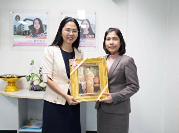 February 21, 2018. Faculty of Education Suan Sunandha Rajabhat University Welcome and exchange with the faculty of education from the Faculty of Education. Surat Thani Rajabhat University On the occasion of the visit to the Faculty