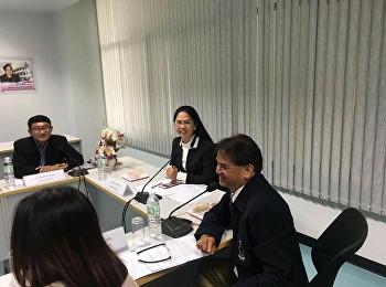 28 เมษายน 2561 รองศาสตราจารย์ ดร.นันทิยา น้อยจันทร์ คณบดีคณะครุศาสตร์ เป็นประธานการประชุมการจัดตั้งสมาคมศิษย์เก่าครุศาสตร์ สวนสุนันทา ระหว่างผู้บริหาร อาจารย์ ศิษย์เก่า และศิษย์ปัจจุบัน ณ ห้องประชุม 1124 คณะครุศาสตร์ มหาวิทยาลัยราชภัฏสวนสุนันทา