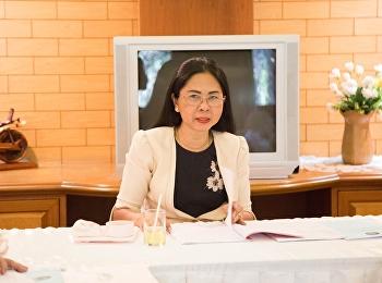 15 พฤษภาคม 2561 ฝ่ายวิชาการคณะครุศาสตร์จัดประชุมคณะกรรมการวิชาการประจำคณะครุศาสตร์ครั้งที่ 2/2561 โดย รองศาสตราจารย์ดร..นันทิยา น้อยจันทร์ คณบดีคณะครุศาสตร์ เป็นประธานที่ประชุม ในการประชุมครั้งนี้มีวาระการประชุมดังนี้ พิจารณาผลการเรียน ภาคเรียนที่2/2560 ก