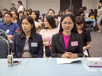 12 มิถุนายน 2561 รองศาสตราจารย์ ดร.นันทิยา น้อยจันทร์ คณบดีคณะครุศาสตร์ ผู้บริหาร คณาจารย์ เข้าร่วมอบรมโครงการอบรมเชิงปฎิบัติการ เรื่อง การใช้จิตปัญญาเสริมสร้างจิตวิญญาณอาจารย์ยุค 4.0 ณ ห้องประชุมช่อแก้ว อาคาร 31 ชั้น 5 มหาวิทยาลัยราชภัฏสวนสุนันทา