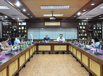 ผู้ช่วยศาสตราจารย์ ดร.ชนนาถ มีนะนันทน์ รองอธิการบดีฝ่ายกิจการนักศึกษา ได้เป็นประธานการประชุมคณะกรรมการสมาคมศิษย์เก่าราชวินิต มัธยม ครั้งที่ 5/2561