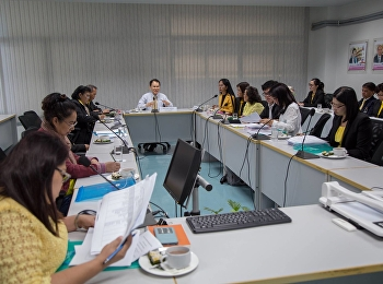 Academic Department Faculty of Education organized a training workshop on curriculum development for high quality teachers and excellent quality at meeting room 1124 Faculty of Education, Rajamangala University of Technology Suan Sunandha. and Premium Qua