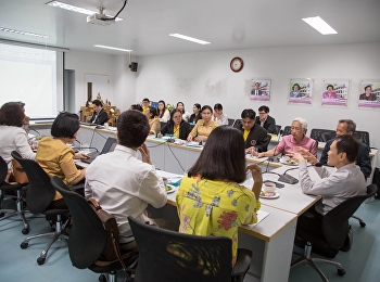 July 6, 2018. Academic Affairs Faculty of Education organized a workshop on curriculum development for teachers of high quality and excellence at meeting room 1124, Faculty of Education, Rajamangala University of Technology Suan Sunanta.
