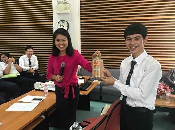 โครงการปรับพื้นฐานนักศึกษาชั้นปีที่ 1 สาขาวิชาภาษาไทย ระหว่างวันที่ 1-2 สิงหาคม 2561 เป็นการเตรียมความพร้อมให้นักศึกษาเข้าใจรูปแบบการเรียนการสอนในมหาลัย การใช้ชีวิตใน กทม. การครองตนเอง และความรู้ด้านวิชาภาษาไทย โดยอาจารย์ในสาขาวิชาภาษาไทยเป็นผู้สอน