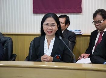 7 สิงหาคม 2561 รองศาสตราจารย์ ดร.นันทิยา น้อยจันทร์ คณบดีคณะครุศาตร์เข้าร่วม การประชุมสภาคณบดีคณะครุศาสตร์ ศึกษาศาสตร์แห่งประเทศไทย