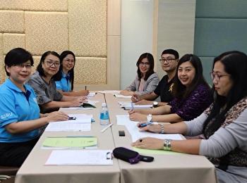 วันที่ 8 สิงหาคม 2561 การประชุมผู้บริหารประจำคณะครุศาสตร์ สัญจร ณ โรงแรมเมธาวลัย ชะอำ