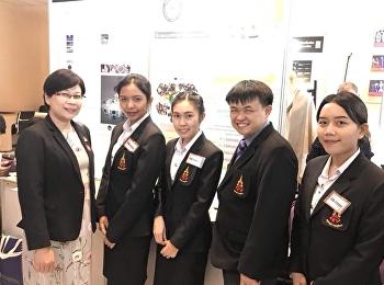 วันที่ 9 สิงหาคม 2561 อาจารย์ ดร. อัญชนา สุขสมจิตร รองคณบดีฝายวิชาการ คณะครุศาสตร์ เข้าเยี่ยมชมผลงานนวัตกรรมการศึกษาโดยสาขาคณิตศาสตร์ วิชาภาษาไทย และวิชาภาษาอังกฤษ