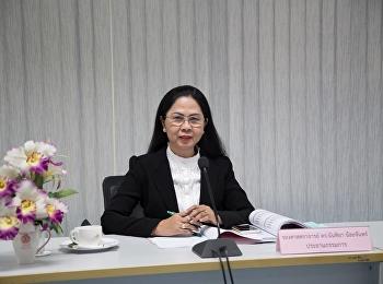 14 สิงหาคม 2561 รองศาสตราจารย์ ดร.นันทิยา น้อยจันทร์ เป็นประธาน การประชุมคณะกรรมการประจำคณะ ครั้งที่ 6/2561 ห้องประชุม 1124