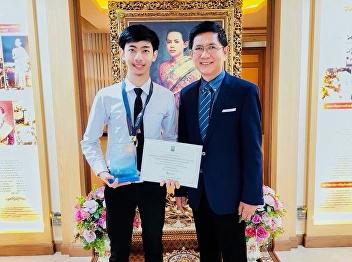 12 september, 2018  Mr.Saharat Luksanasud visit to Assoc. Prof. Dr. Rupdej Krungvichai, President of Suan Sunandha Rajabhat University.