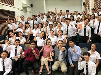วันนี้ (26 กันยายน 2561) สาขาวิชาภาษาไทย คณะครุศาสตร์ ได้รับเกียรติจากโครงการ Amarinbook Road Show ซึ่งเป็นโครงการที่ Amarinbook ร่วมกับ แพรวสำนักพิมพ์ สำนักพิมพ์ spingbooks สำนักพิมพ์ Amarin How-To