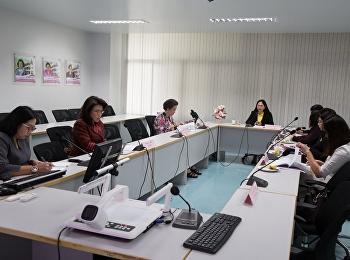 8 ตุลาคม 2561 รองศาสตราจารย์ ดร.นันทิยา น้อยจันทร์ เป็นประธาน การประชุมคณะกรรมการประจำคณะครุศาสตร์ ครั้งที่ 9/2561 ณ ห้องประชุม 1124 อาคาร 11 คณะครุศาสตร์ มหาวิทยาลัยราชภัฏสวนสุนันทา