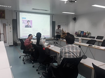 October 9, 2018. Associate Professor Dr. Nantiya Noichan, Dean of Faculty of Education, assigned to Assistant Professor Dr. Suttipong Boonpadung, Associate Dean for Administration. Invited the qualified Professors from the English Department Check out the