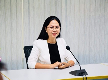 October 24, 2018. Associate Professor Dr. Nantiya Noichan chairs the 80th Anniversary of the establishment of Suan Sunandha Rajabhat University at Room 1124, Faculty of Education.