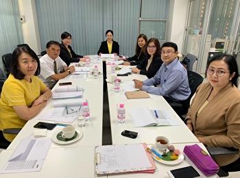 12 พฤศจิกายน 2561 การประชุมคณะกรรมการบริหารคณะครุศาสตร์ ณ ห้องประชุมชั้น 3 สำนักงานคณะครุศาสตร์