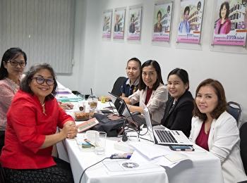 (วันที่ 4 )การประชุมแนวทางการดำเนินงานขับเคลื่อนหลักสูตรการผลิตครูเป็นเลิศ 4 ปี คณาจารย์ คณะครุศาสตร์ เข้าร่วมประชุม ที่จะจัดขึ้นในวันที่ 12-16 พฤศจิกายน 2561