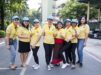 Thursday, December 26, 2018, Prof. Dr. Nantiya Noichun, Dean of the Faculty of Education, Suan Sunandha Rajabhat University, along with assistant doctoral degree administrators That has put down the sweeping area around the university and Rajathiwas Templ