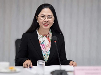 9 January 2019, Associate Professor Dr. Nantiya Noichun, Dean of the Faculty of Education 1/2562 at the meeting room 1124, Faculty of Education, Suan Sunandha Rajabhat University