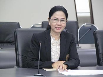 14 มกราคม 2562 รองศาสตราจารย์ ดร.นันทิยา น้อยจันทร์ เข้าร่วมการประชุมชี้แจงแนวทางการจัดสรรทุนวิจัย R2R ณ ห้องประชุมสภามหาวิทยาลัย อาคาร 31 ชั้น 5 มหาวิทยาลัยราชภัฏสวนสุนันทา