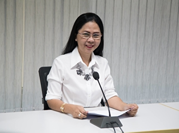 5 March 2019, Associate Professor Dr. Nantiya Noichun, Dean, presided over the meeting of the plan to simulate a fire drill, Faculty of Education, Suan Sunandha Rajabhat University.
