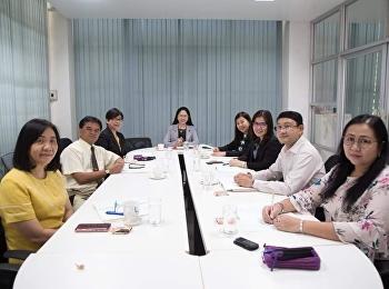 11 มีนาคม 2562 รองศาสตราจารย์ ดร.นันทิยา น้อยจันทร์ เป็นประธาน การประชุมคณะกรรมการบริหารคณะครุศาสตร์ ครั้งที่ 2/2562 ณ ห้องประชุมคณะครุศาสตร์ มหาวิทยาลัยราชภัฏสวนสุนันทา