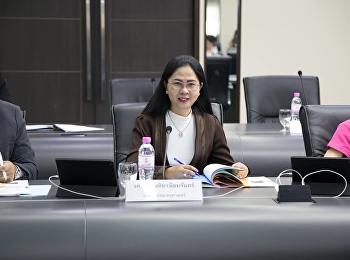 เข้าร่วมประชุมคณะกรรมการบริหารมหาวิทยาลัย (กบม.) ครั้งที่ 3 / 2562