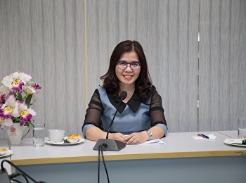 22 March 2019 Dr. Kannika Phiromrat, Associate Dean for Research and Academic Services Chaired the project meeting, monitoring and evaluation of academic service project Fiscal year 2019 at the meeting room 1124