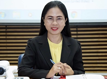 25 March 2019, Associate Professor Dr. Nantiya Noichan chairs the Faculty of Education Faculty Meeting 1/2562 at the conference room 1137, Faculty of Education, Suan Sunandha Rajabhat University.