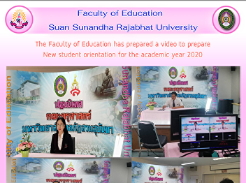 The Faculty of Education has prepared a video to prepare New student orientation for the academic year 2020