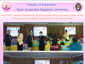 Asst. Prof. Dr. Sasiporn Phongploenpis, English language teacher organised a project entitled